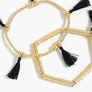 New Jcrew Tassle bracelets